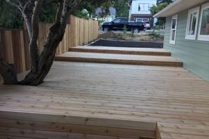 Photo #5: Sunrise Construction. Deck & Fence Service
