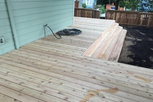 Photo #4: Sunrise Construction. Deck & Fence Service
