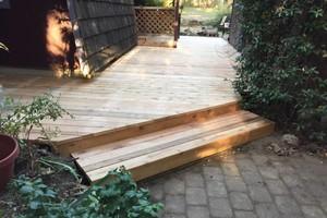 Photo #3: Sunrise Construction. Deck & Fence Service