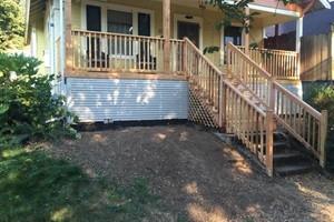 Photo #2: Sunrise Construction. Deck & Fence Service