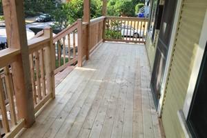 Photo #1: Sunrise Construction. Deck & Fence Service
