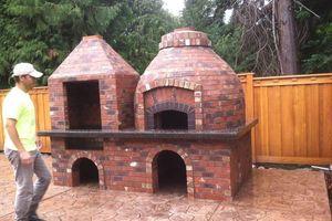 Photo #2: MIA Construction. Brick and Stucco services