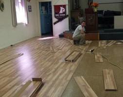 Photo #23: Pro-Floors LLC Laminate, Hardwood, Vinyl Installation