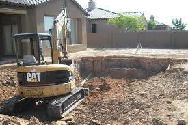 Photo #4: Excavation & land clearing