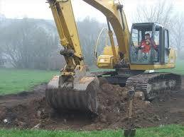 Photo #2: Excavation & land clearing