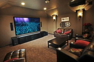 Photo #2: Wall Mounting TV and Home Theater