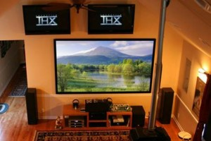 Photo #1: Wall Mounting TV and Home Theater