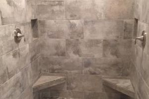 Photo #2: PROFESSIONAL TILE INSTALL: Shower, Bath, Floors