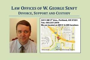 Photo #1: W. GEORGE SENFT - Family Law Attorney