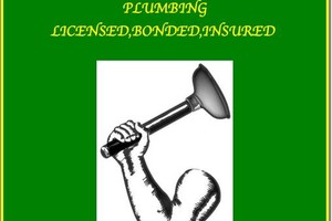 Photo #1: Licensed, Bonded, Insured Plumbing and Drain Service. Low Rates!