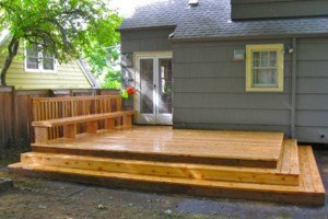 Photo #3: ALL SEASONS DECK AND FENCE. CHAIN LINK fence