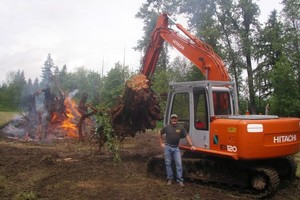 Photo #1: KLM Excavating Inc. Excavating, Demolition, Construction
