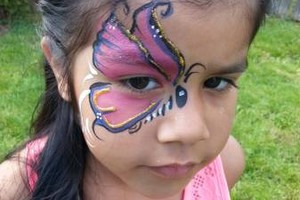 Photo #9: SweetFace. Professional, experienced Face Painter makes ANY party much more fun!