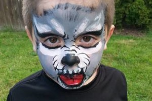 Photo #10: SweetFace. Professional, experienced Face Painter makes ANY party much more fun!