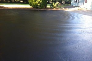 Photo #9: ASPHALT SEALCOATING, CRACK SEALING, STRIPING