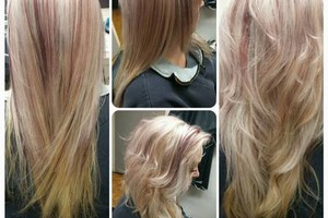 Photo #3: Hair by Addie. Color correction $100-$150 per great