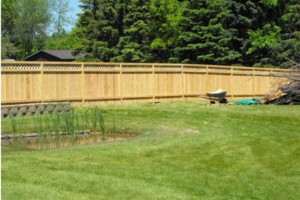 Photo #4: Chuck's Fence. Fence building, professional install!