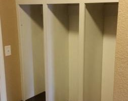 Photo #2: CJ's Custom Cabinetry LLC. Mudroom locker cabinetry