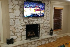 Photo #8: Advanced Wiring Specialists. TV Wall Mounting Service