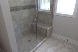 Photo #2: TILE! Experience installing tile and stone