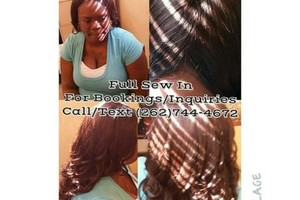 Photo #4: Moe Styles! Quick weaves $45