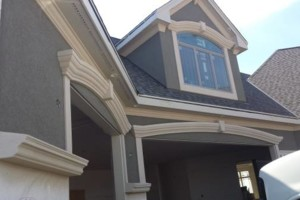 Photo #2: Deeds Plastering and Stucco, LLC