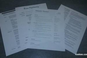 Photo #1: Need a new resume?