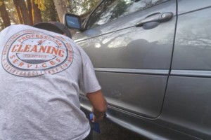 Photo #3: Undergrad Clean-Up (ECO Friendly Mobile Waterless Car Detailing )