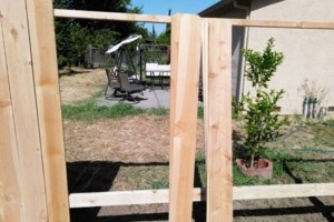 Photo #10: FENCE REPAIR/ NEW FENCE/ TREE REMOVAL/ TRIMMING...