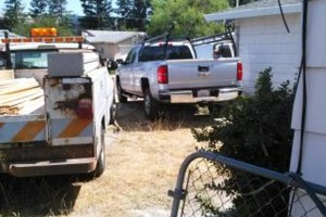 Photo #9: FENCE REPAIR/ NEW FENCE/ TREE REMOVAL/ TRIMMING...