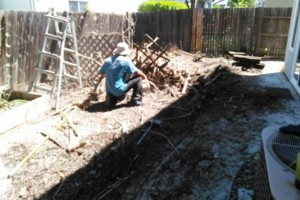 Photo #1: FENCE REPAIR/ NEW FENCE/ TREE REMOVAL/ TRIMMING...