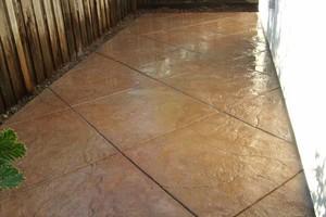Photo #20: SOLID ROCK - Professional Concrete & Pavers