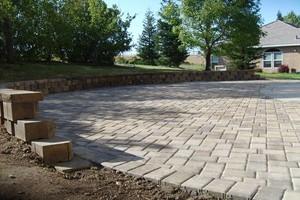 Photo #15: SOLID ROCK - Professional Concrete & Pavers