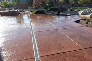 Photo #11: SOLID ROCK - Professional Concrete & Pavers