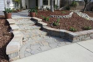 Photo #2: SOLID ROCK - Professional Concrete & Pavers