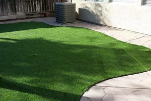 Photo #2: Preston Landscaping. Artificial Turf [Synthetic Grass]
