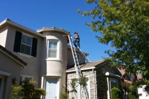 Photo #13: ROOFTO $95.00 GUTTER CLEANING