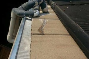 Photo #1: ROOFTO $95.00 GUTTER CLEANING