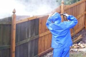 Photo #6: Power Wash for DECKS, Walks, Roofs, Fences, Walls, Driveways,