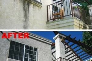 Photo #5: Power Wash for DECKS, Walks, Roofs, Fences, Walls, Driveways,