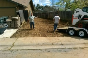 Photo #1: Concrete, Dirt, Asphalt, grass removal...