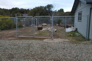 Photo #3: Chainlink/Wood Fence Installation & Repair