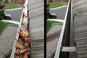 Photo #1: Gutter cleaning $55 by Paul