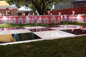 Photo #4: AV Party Rental. Dance Floor, Chairs and Jumper packages