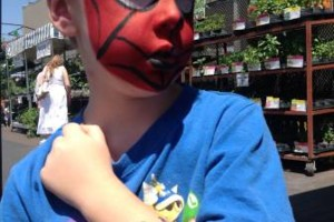 Photo #8: OOPS C. DAISY Silly clown magic, face painting