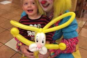 Photo #6: OOPS C. DAISY Silly clown magic, face painting
