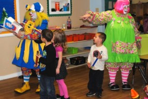 Photo #4: OOPS C. DAISY Silly clown magic, face painting