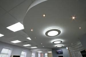 Photo #3: Custom T-bar ceiling installation