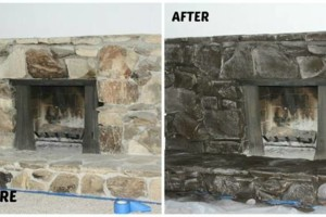 Photo #14: Faux Stone, Marble, Wood finishes for your fireplace and more