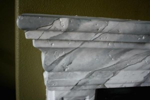 Photo #9: Faux Stone, Marble, Wood finishes for your fireplace and more